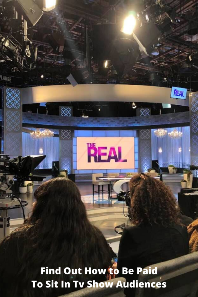 Find Out How to Be Paid To Sit In Tv Show Audiences