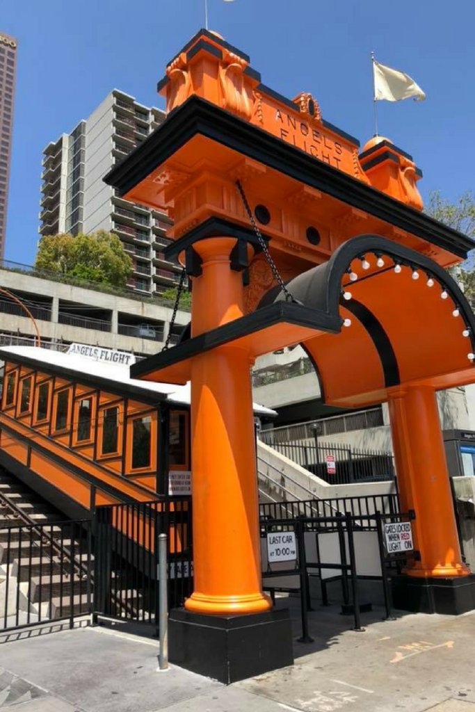 angels flight la la land