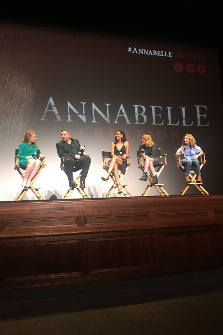 Annabelle Creation Movie Cast Q&A LA Film Festival