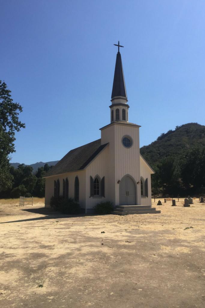 church from westworld