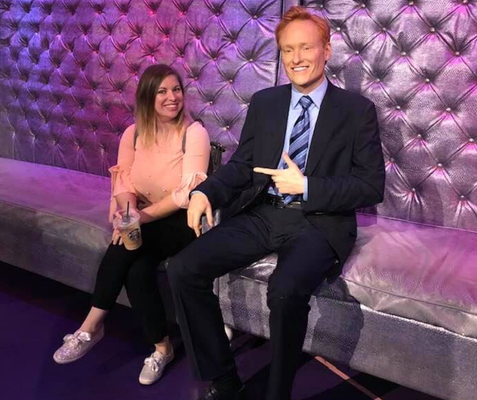 conan wax figure