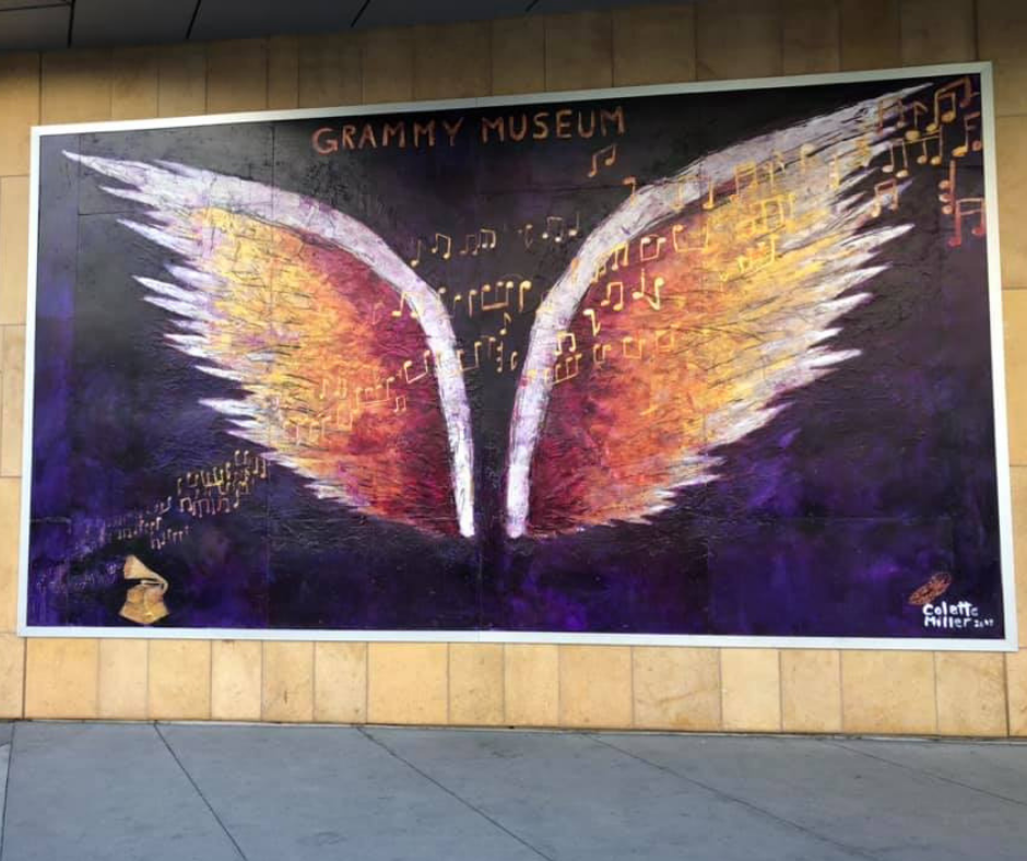 grammy museum angel wings