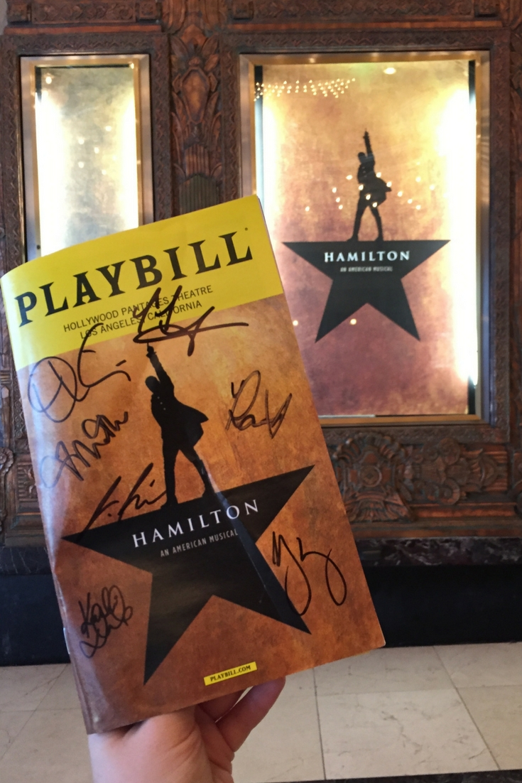 How to Meet the Los Angeles Cast of Hamilton at the Pantages