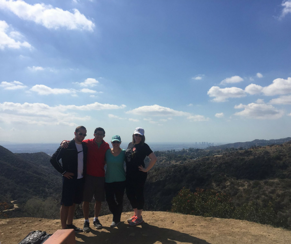 hike hollywood sign trail