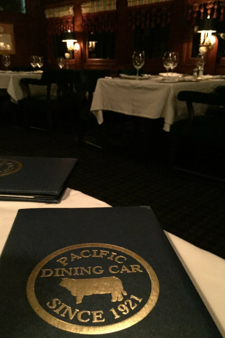 Pacific Dining Car Restaurant Los Angeles A Unique Date Night Spot