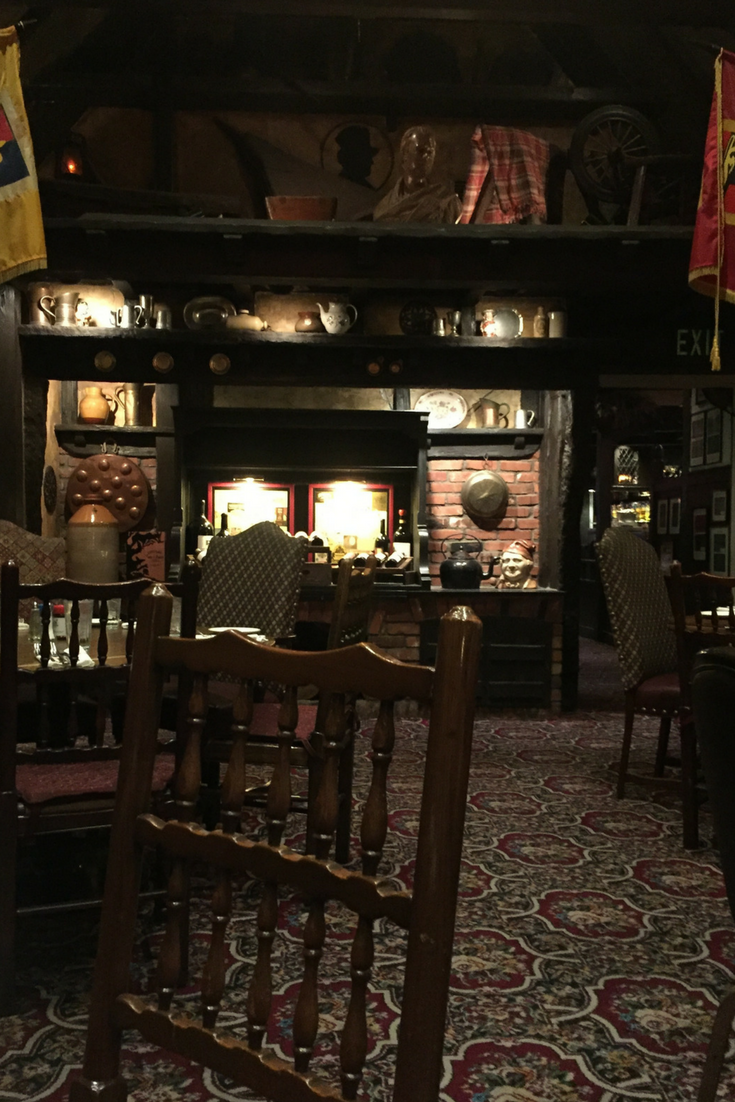 Dine at Walt Disney's Favorite Restaurant The Tam O'Shanter Inn