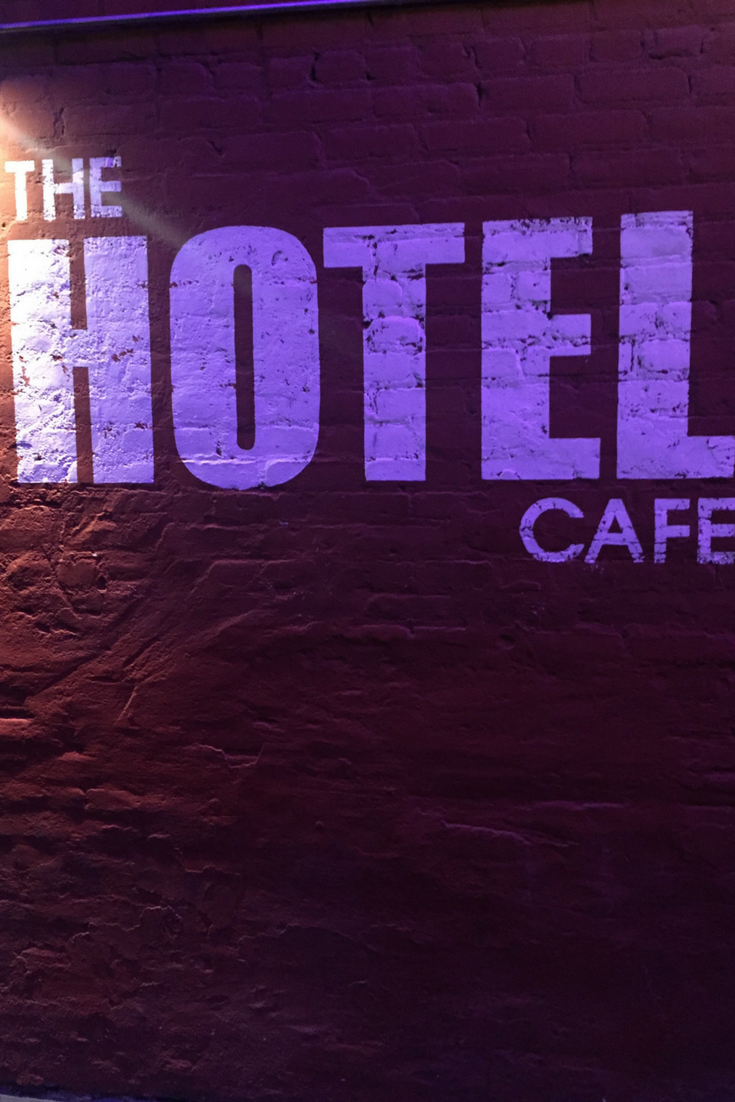 hotel cafe in hollywood