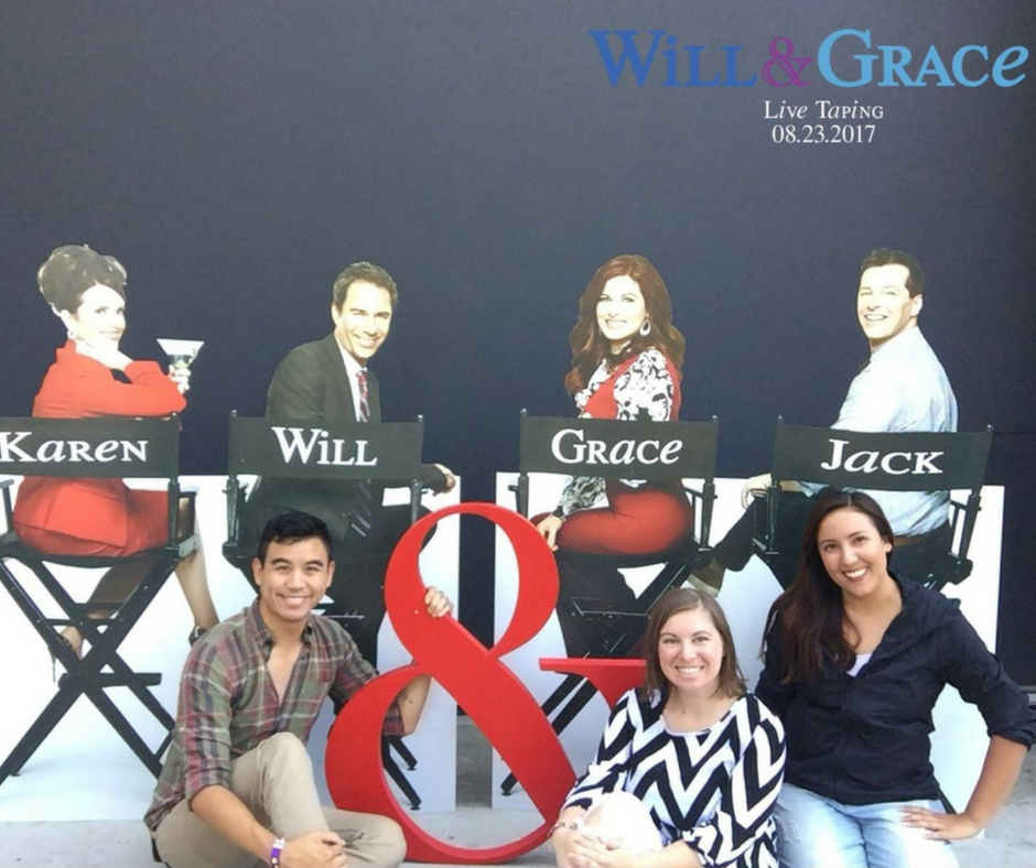 will & grace tapings