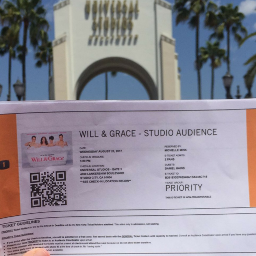will & grace tickets