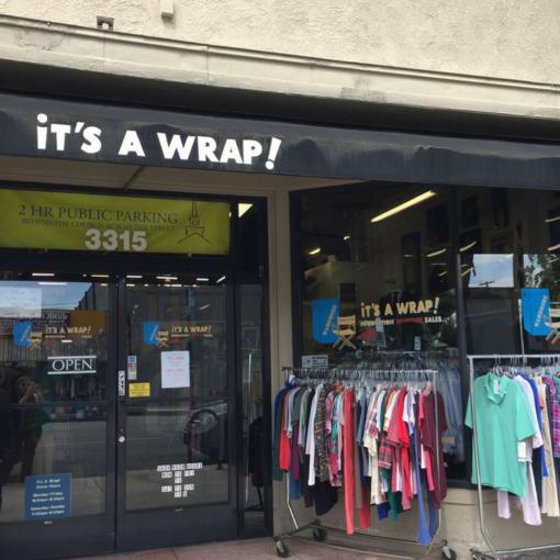 it's a wrap store