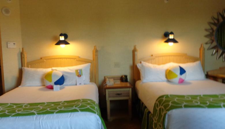 paradise pier hotel rooms