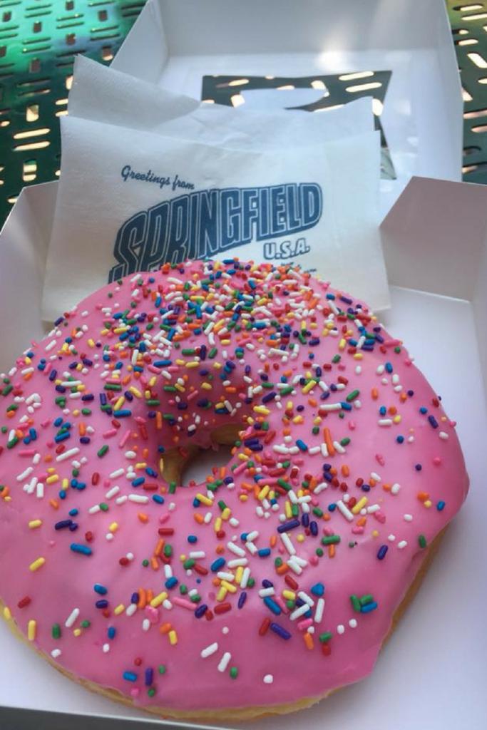 universal studios donuts