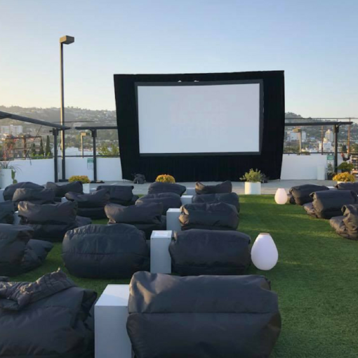 melrose rooftop cinema