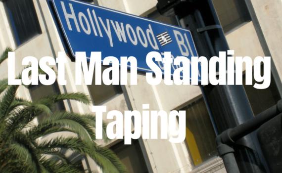 Last Man Standing Taping