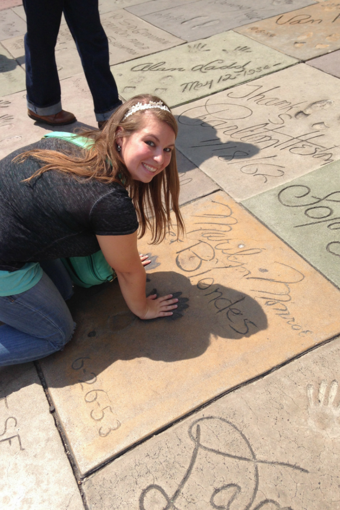 chinese theatre hand & footprints