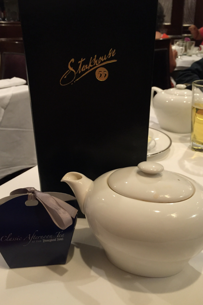 tea at the disneyland hotel