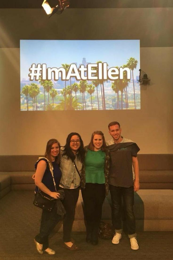 The Ellen DeGeneres Show Taping