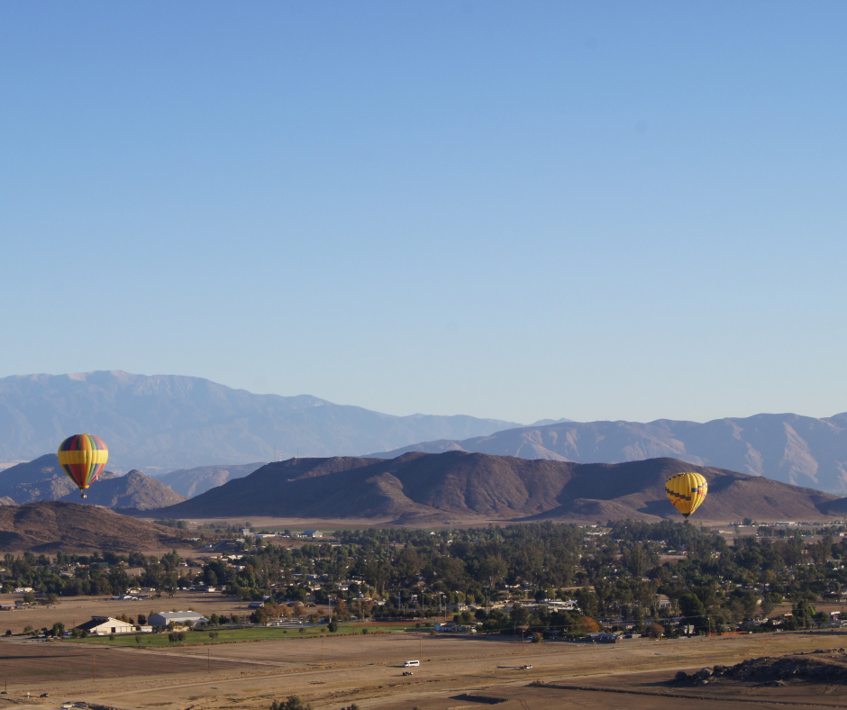 discounted hot air ballooning in southern california