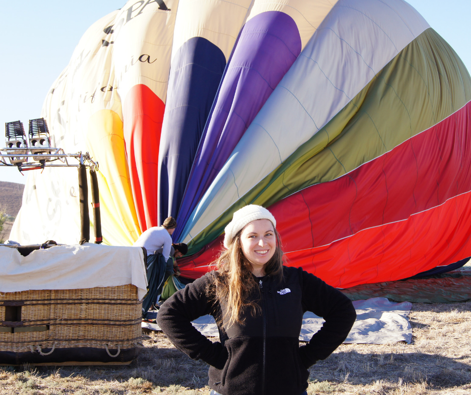 hot air ballooning in southern california