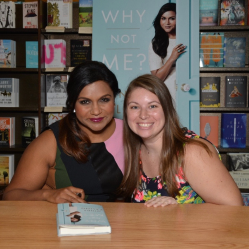 mindy kailing book signing