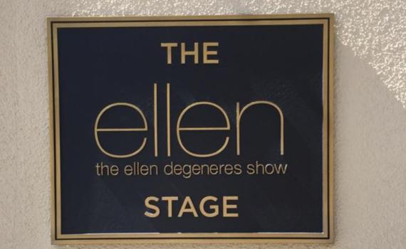 the ellen degeneres stage
