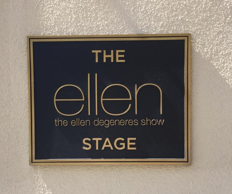 the ellen degeneres stage