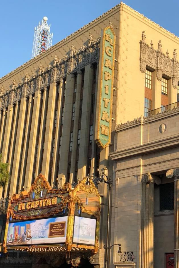 With The El Capitan Theatre Disney Creates a Magical Experience