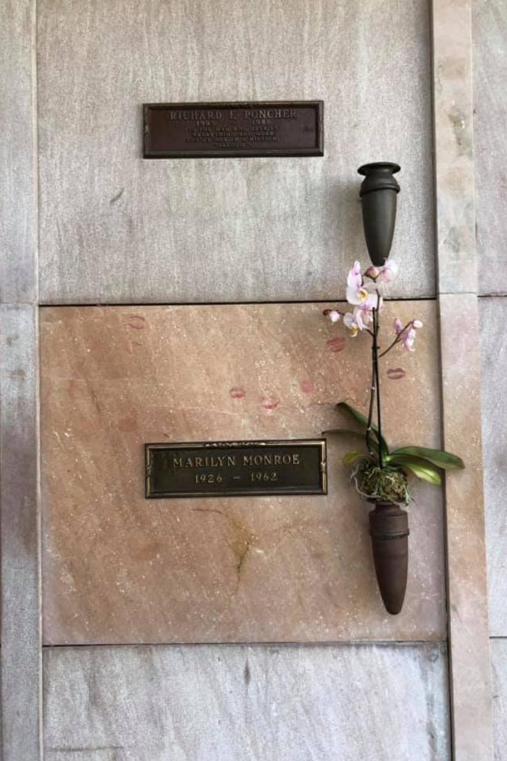 marilyn monroe's grave