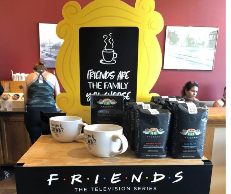 The One With The Friends Themed Menu at Coffee Bean