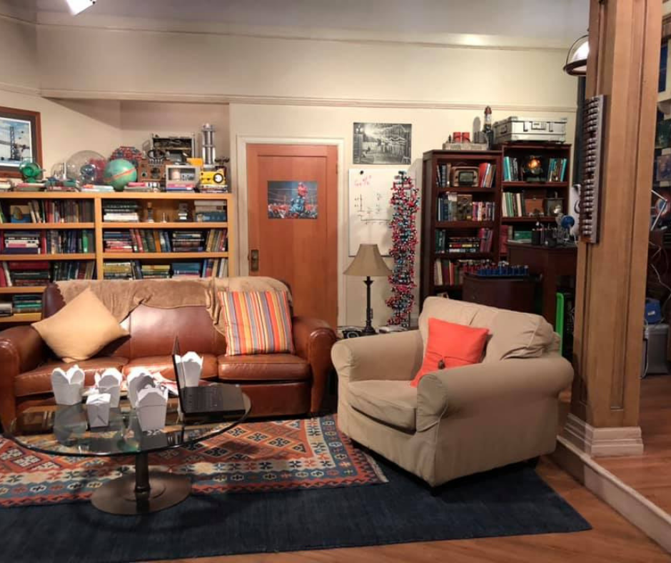 How To Visit The Big Bang Theory Set And Sit in Sheldon's Spot