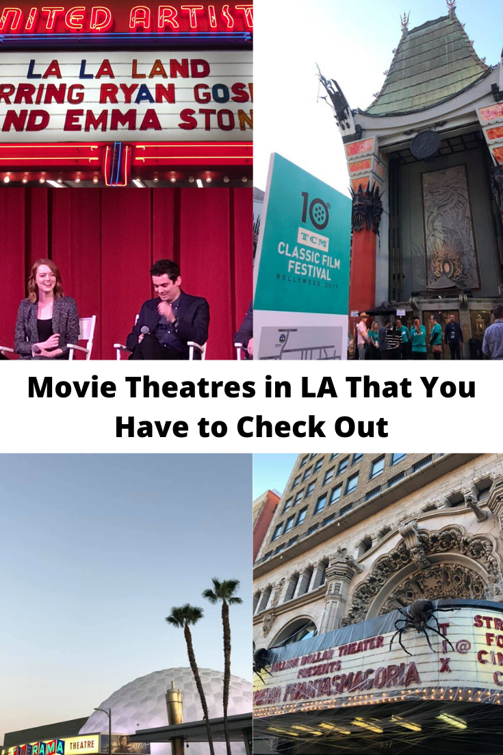 Movie Theatres in LA That Are Worth Checking Out