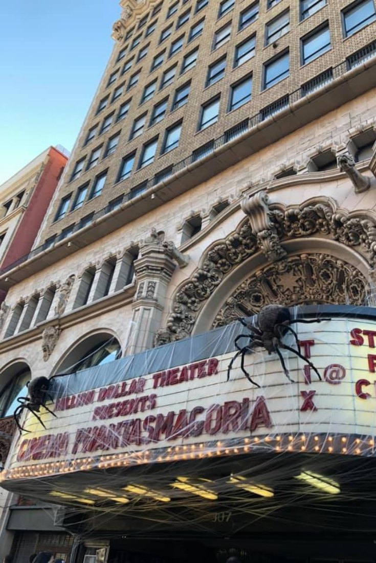 The Million Dollar Theatre One of LA's Oldest Movie Palaces