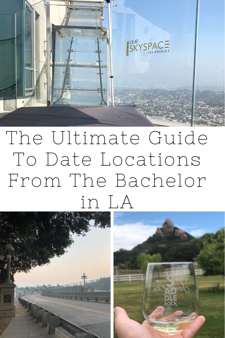 date locations from the bachelor in la