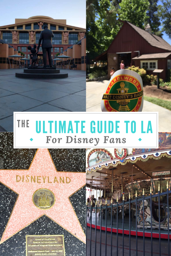 guide to la for disney fans