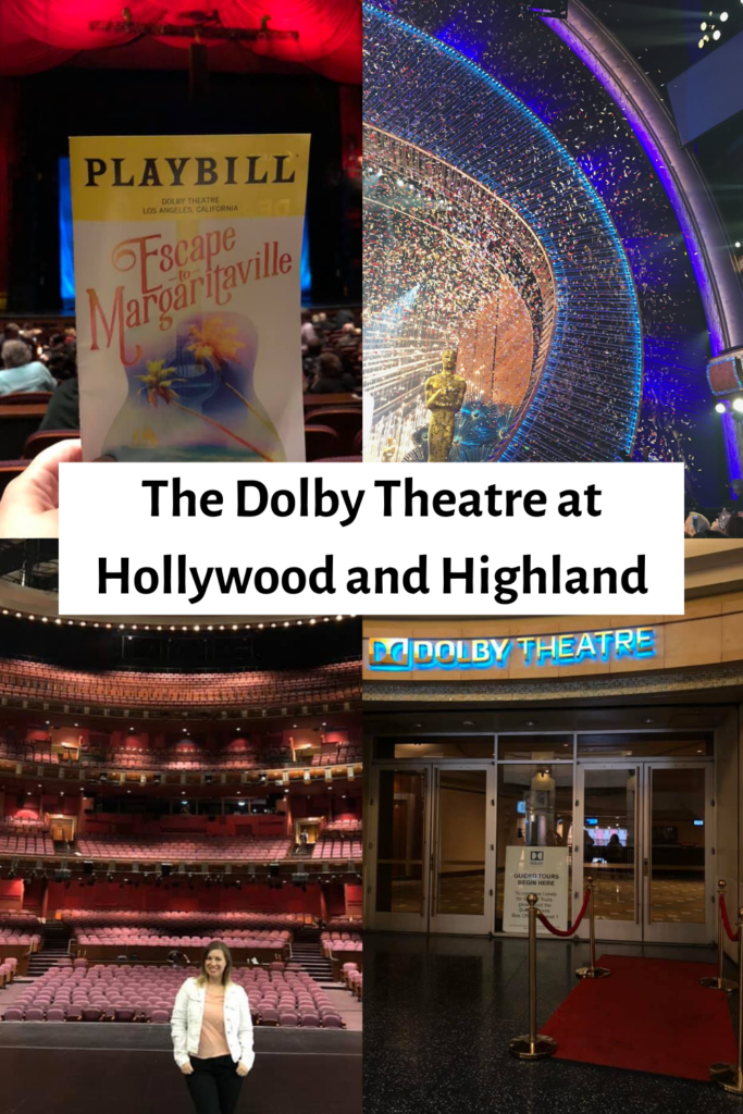 the dolby theatre at hollywood and highland