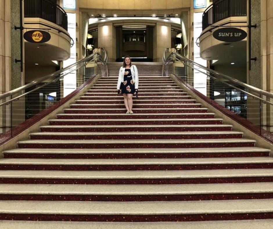 the grand staircase to the dolby theatre