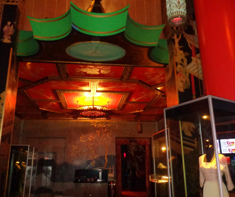 lobby of the chinese theatre