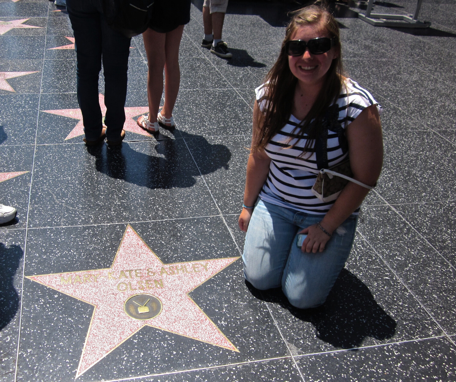 mary kate and ashley walk of fame star
