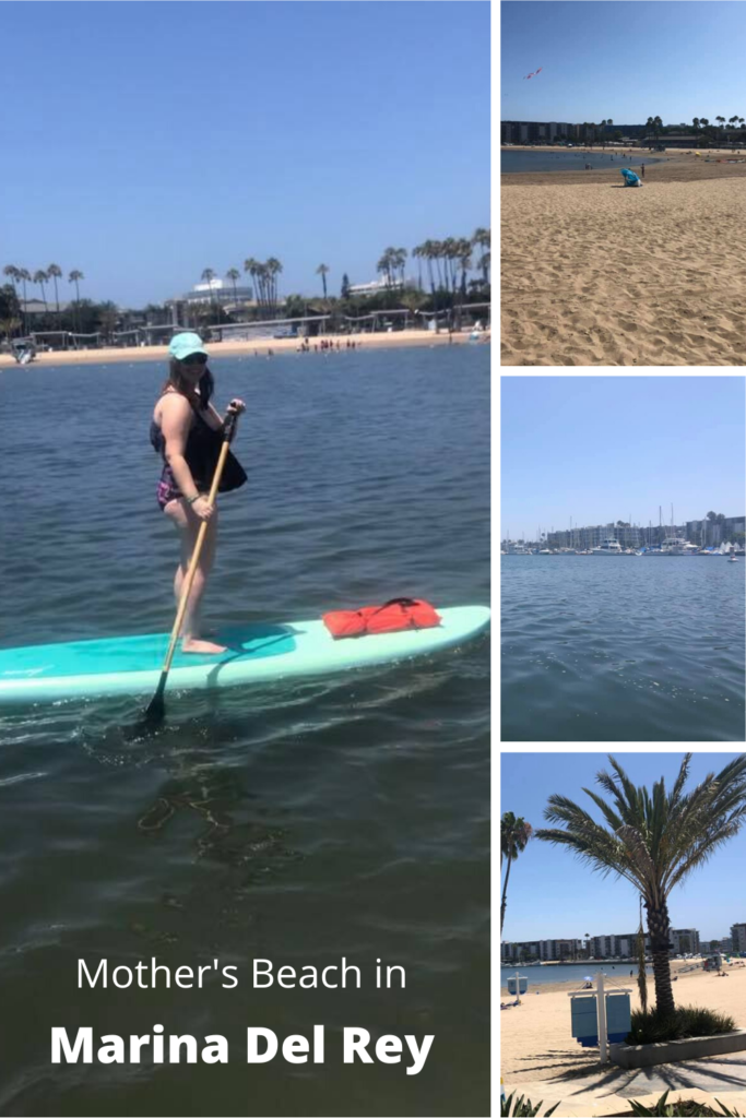 Mother's Beach in marina del rey