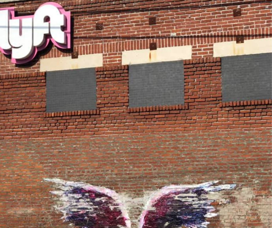 angel wings at lyft