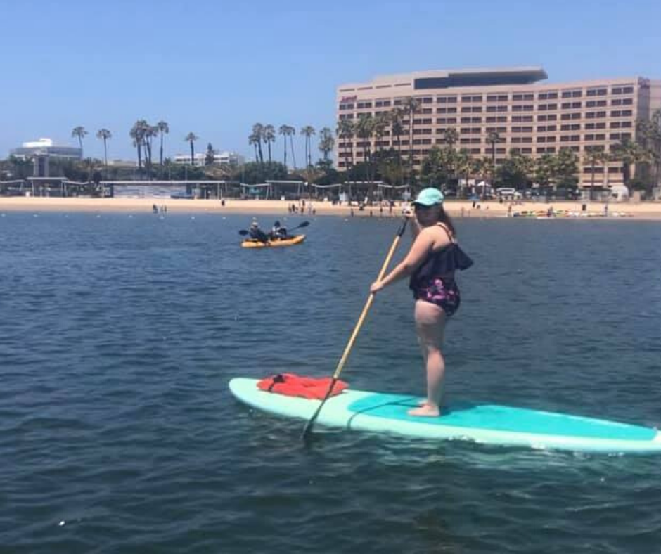 stand up paddle boarding marina del rey