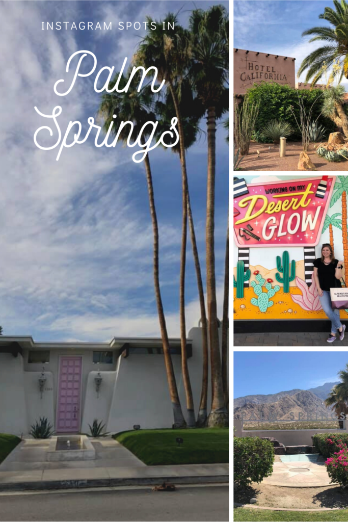 Instagram spots in palm springs