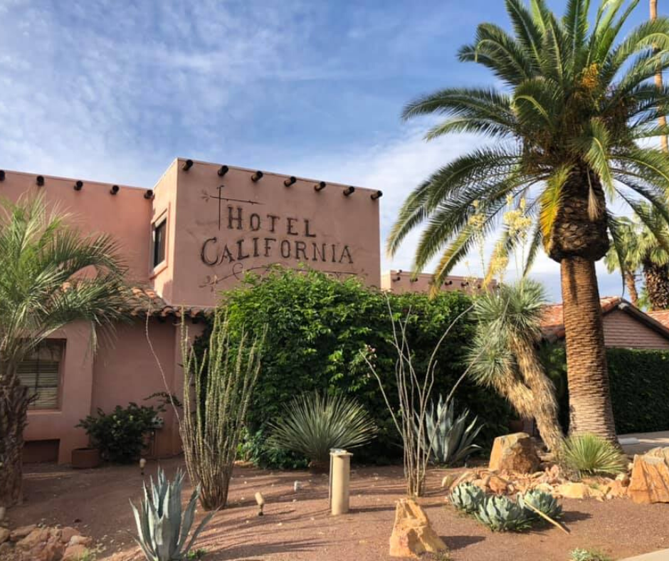 hotel california palm springs