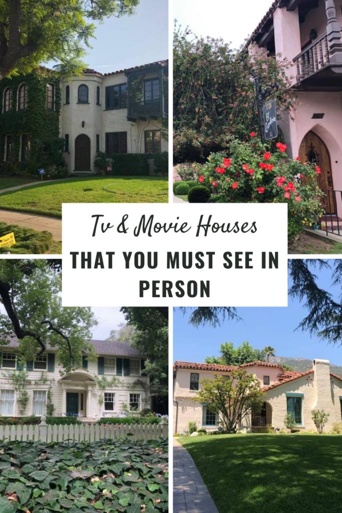 Tv & Movie Houses in los angeles