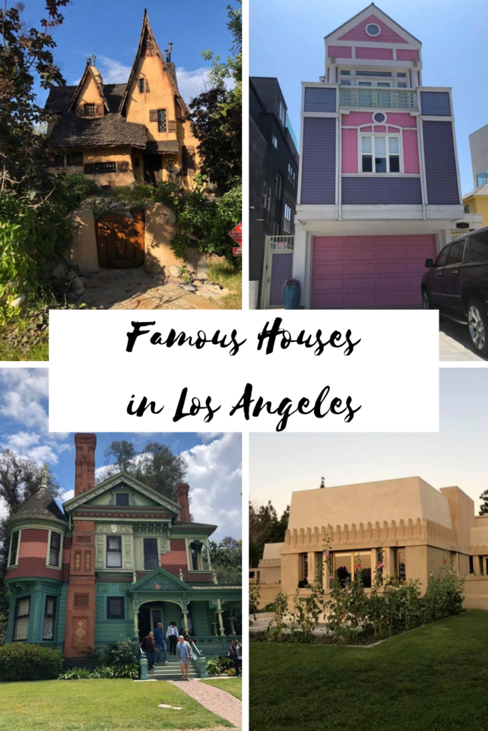 famous houses in los angeles