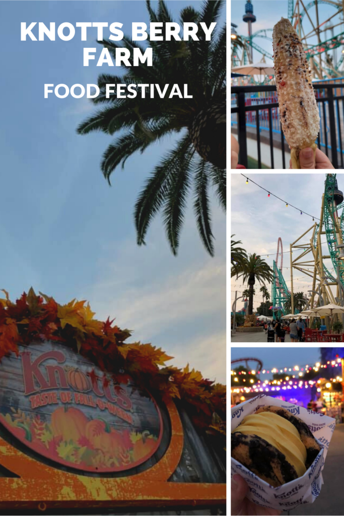 knotts berry farm food festival