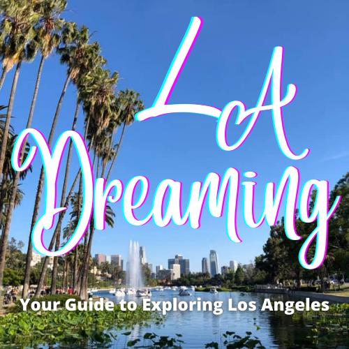 la dreaming podcast logo
