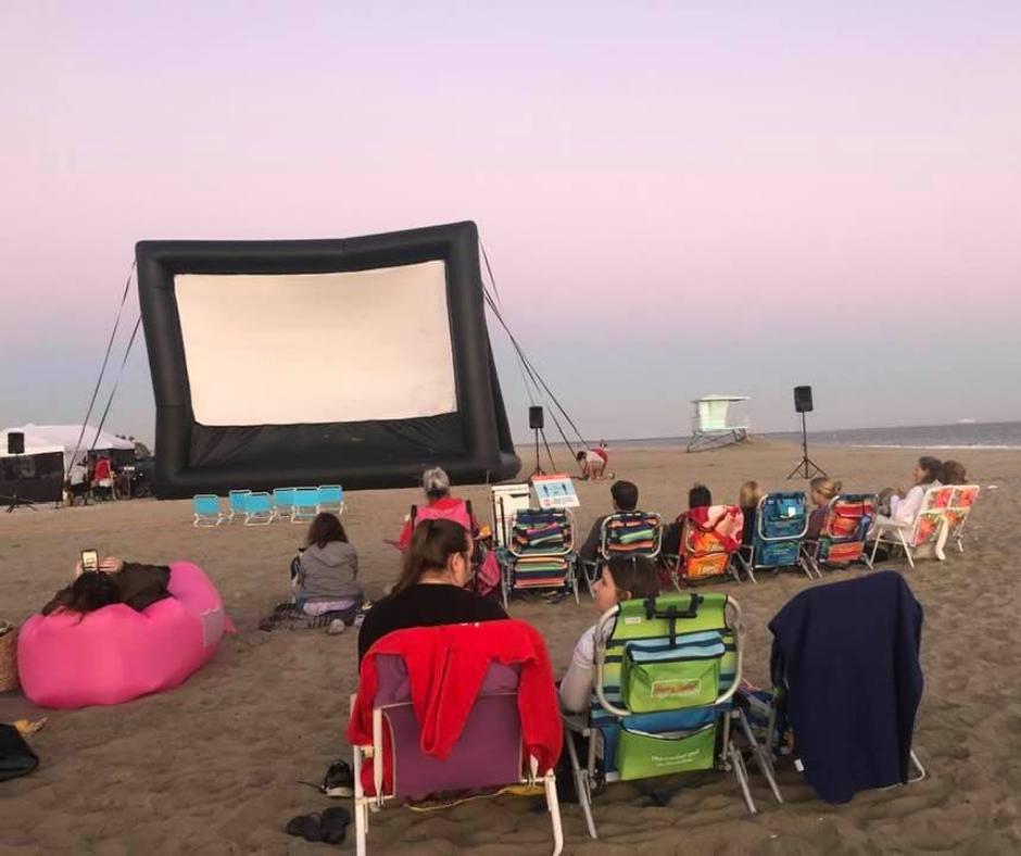 movies on the beach in long beach